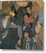 The Origins Of The Modern In Basque Metal Print