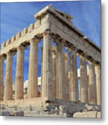 The Parthenon Acropolis Athens Greece Metal Print