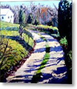 The Path To Huntley Metal Print