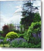 The Perennial Garden Metal Print