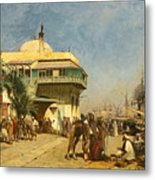 The Port Of Algiers Metal Print