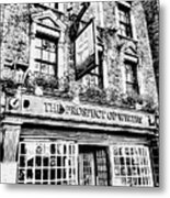 The Prospect Of Whitby Pub London Art Metal Print