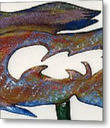 The Prozak Fish Metal Print by Robert Margetts