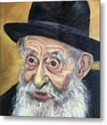 The Rabbi Metal Print