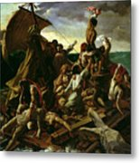 The Raft Of The Medusa Metal Print