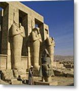 The Ramesseum Metal Print