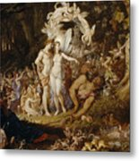 The Reconciliation Of Oberon And Titania Metal Print