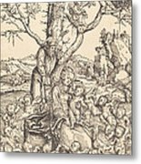 The Rest On The Flight Into Egypt Metal Print