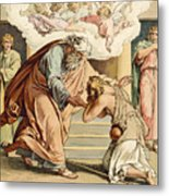 The Return Of The Prodigal Son Metal Print