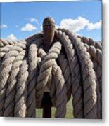 The Ropes Metal Print