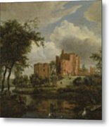 The Ruins Of Brederode Castle Metal Print