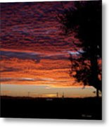 The Shortest Day Sunrise Metal Print