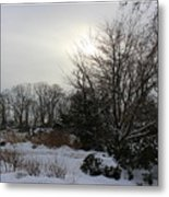 The Storm Is Gone Metal Print