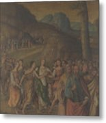 The Story Of Moses The Dance Of Miriam Metal Print