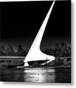 The Sundial Bridge Metal Print