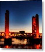 The Tower Bridge At Sunset Metal Print