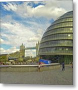 The Towers Of London Metal Print
