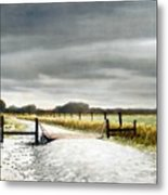 The Turnoff Metal Print