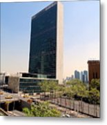 The United Nations Metal Print