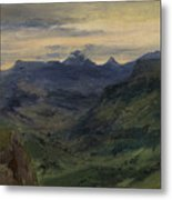 The Valley Of Saint-vincent Metal Print