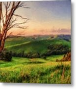 The Valley  Ed1 Metal Print