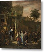 The Village Wedding Metal Print