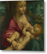 The Virgin And Child Metal Print