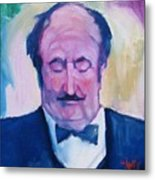 The Waiter Metal Print