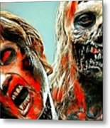 The Walking Dead Metal Print
