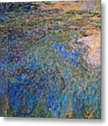 The Water Lily Pond 1914 1917 Metal Print