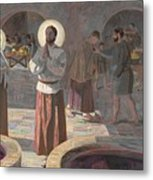 The Wedding At Cana Metal Print