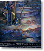 The Wheel Of Tempus Q. Fugit Metal Print