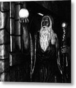 The Wizard Metal Print