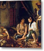 The Women Of Algiers In Their Apartment Metal Print