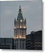 The Woolworth Building Metal Print