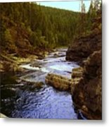 The Yak River Metal Print