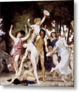 The Youth Of Bacchus Metal Print