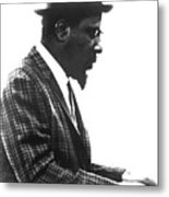 Thelonius Monk 1917-1982jazz Pianist Metal Print