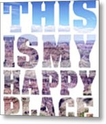 This Is My Happy Place - The Grand Canyon Metal Print