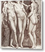 Three Graces Metal Print
