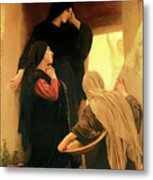 Three Marys At The Tomb Metal Print