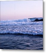 Three Waves Metal Print