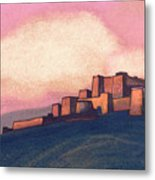 Tibetan Fortress Metal Print