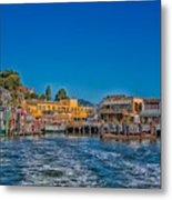 Tiburon Waterfront Metal Print