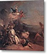 Tiepolo The Rape Of Europa Giovanni Battista Tiepolo Metal Print