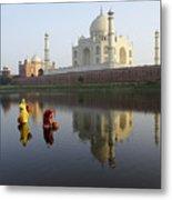 Timeless Taj Mahal Metal Print