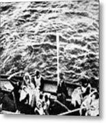 Titanic: Lifeboats, 1912 Metal Print