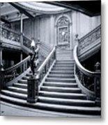 Titanic's Grand Staircase Metal Print