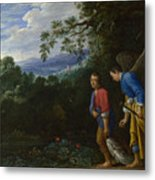 Tobias And The Archangel Raphael Metal Print