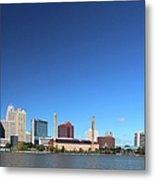 Toledo Skyline I Metal Print
